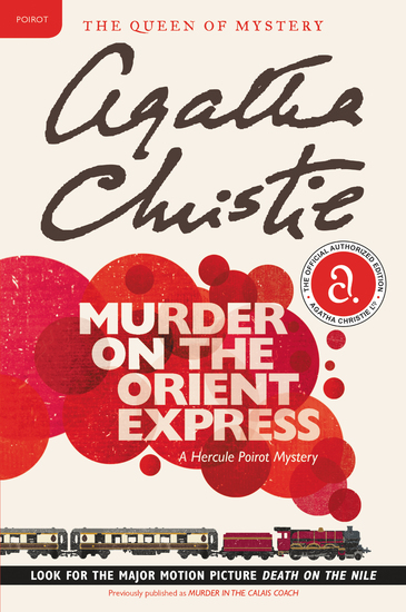 Murder on the Orient Express - A Hercule Poirot Mystery - cover