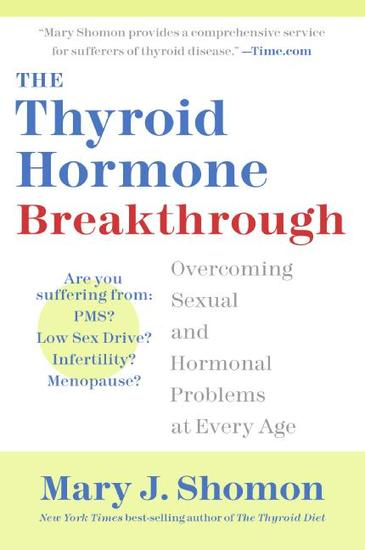 The Thyroid Hormone Breakthrough - Overcoming Sexual and Hormonal Problems at Every Age - cover