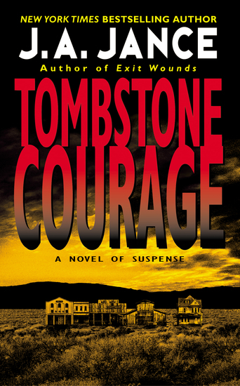 Tombstone Courage - cover