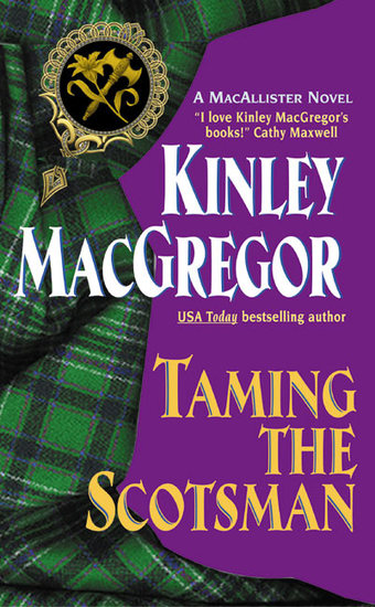 Taming the Scotsman - cover