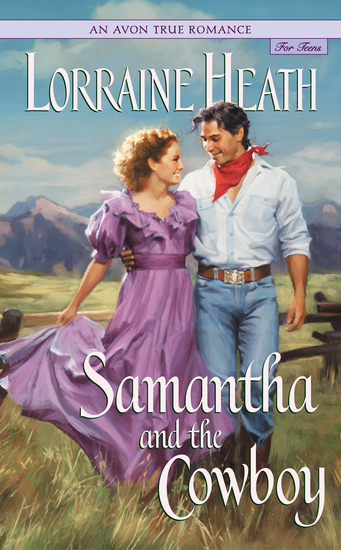 An Avon True Romance: Samantha and the Cowboy - cover