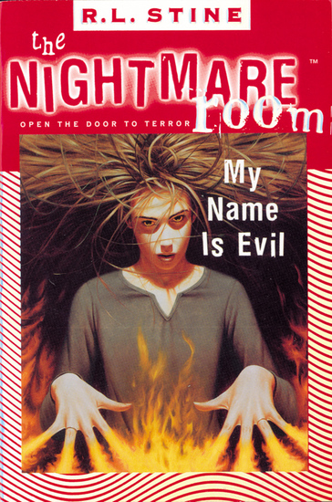 The Nightmare Room #3: My Name Is Evil - cover
