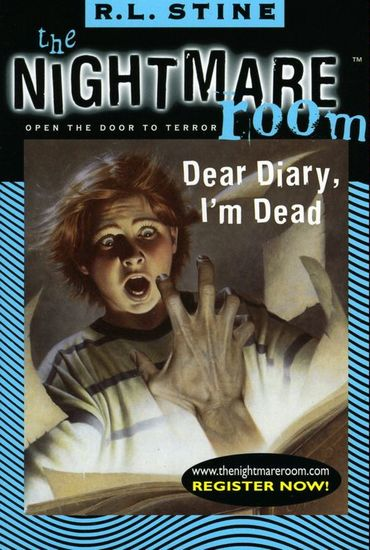 The Nightmare Room #5: Dear Diary I'm Dead - cover