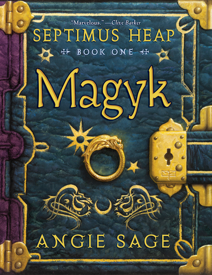 Septimus Heap Book One: Magyk - cover
