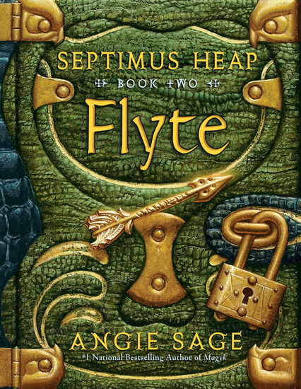 Septimus Heap Book Two: Flyte - cover