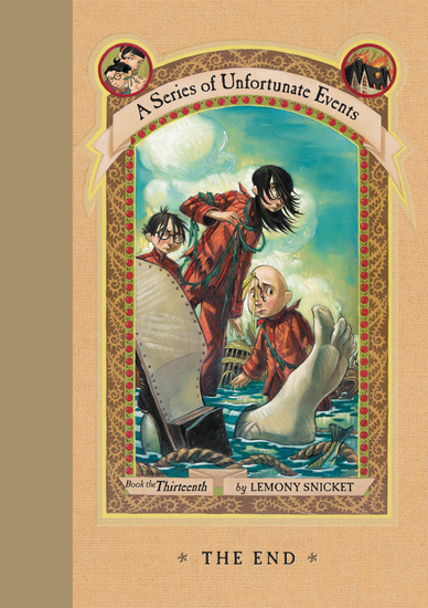 A Series of Unfortunate Events #13: The End - cover