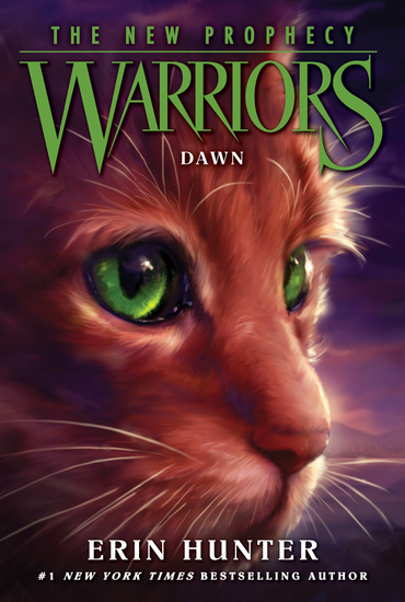 Warriors: The New Prophecy #3: Dawn - cover