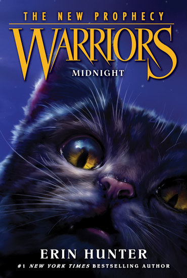 Warriors: The New Prophecy #1: Midnight - cover