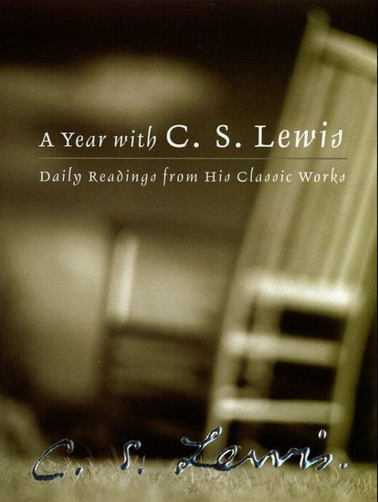 A Year with C S Lewis - Daily Readings from His Classic Works - cover