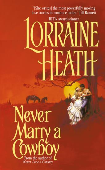Never Marry a Cowboy - cover