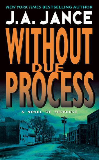 Without Due Process - A JP Beaumont Novel - cover
