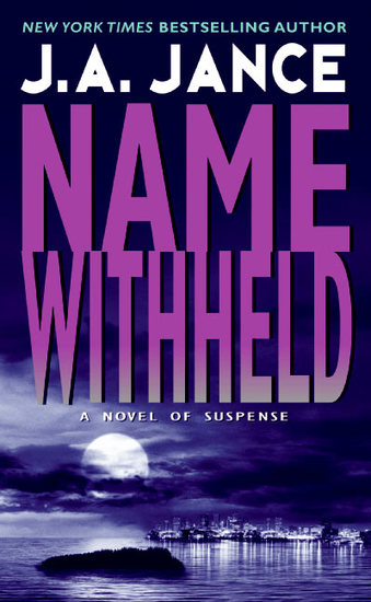 Name Withheld - A JP Beaumont Mystery - cover