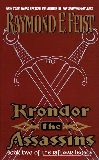 Krondor the Assassins - Book Two Of The Riftwar Legacy - cover