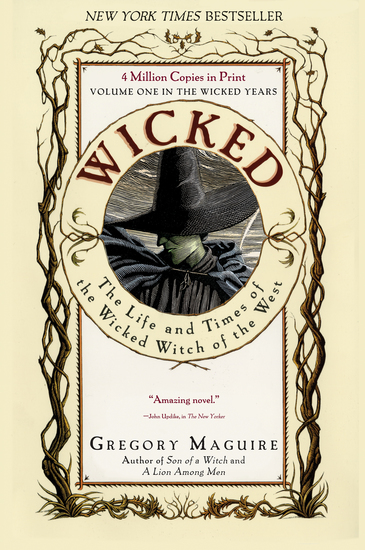 Wicked - Life and Times of the Wicked Witch of the West - cover