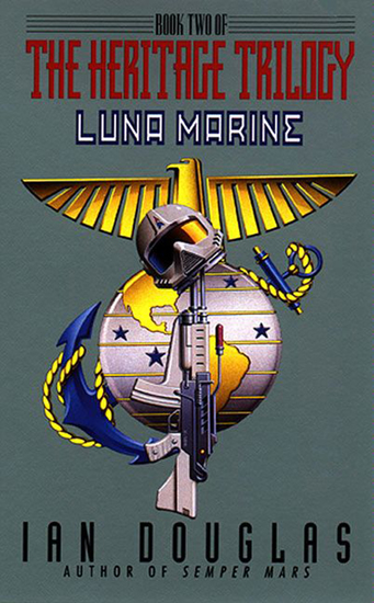 Luna Marine - Book Two Of The Heritage Trilogy - cover