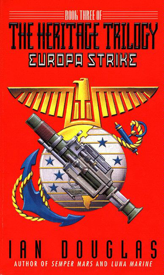 Europa Strike - Book Three Of The Heritage Trilogy - cover