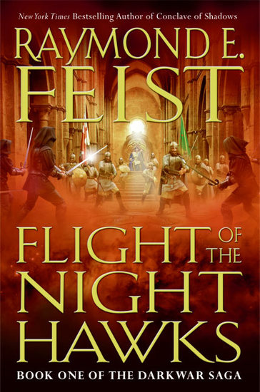 Flight of the Nighthawks - Book One of the Darkwar Saga - cover