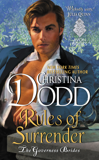 Rules of Surrender - Governess Brides #2 - cover