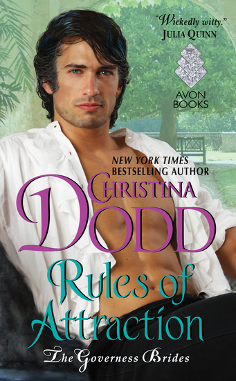 Rules of Attraction - Governess Brides #4 - cover