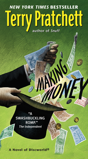 Making Money - A Novel of Discworld - cover