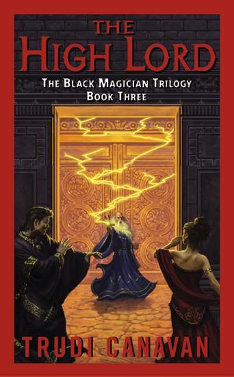 The High Lord - The Black Magician Trilogy - cover