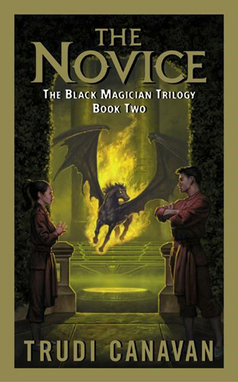 The Novice - The Black Magician Trilogy - cover