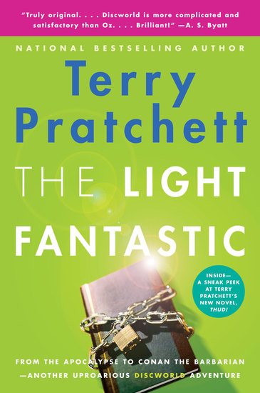 The Light Fantastic - A Novel of Discworld - cover