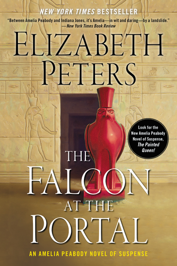 The Falcon at the Portal - An Amelia Peabody Mystery - cover
