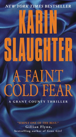 A Faint Cold Fear - A Grant County Thriller - cover