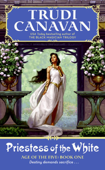 Priestess of the White - Age of the Five Gods Trilogy Book 1 The - cover