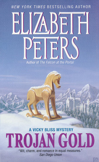 Trojan Gold - A Vicky Bliss Novel of Suspense - cover