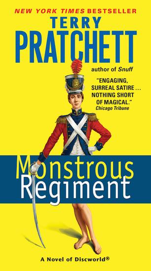 Monstrous Regiment - cover