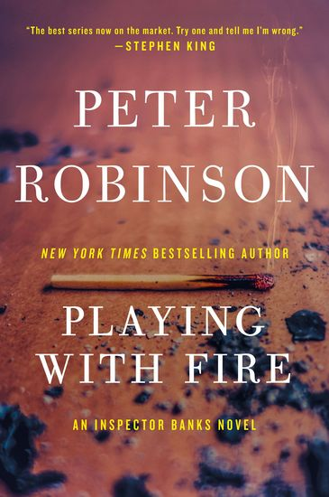 Playing with Fire - A Novel of Suspense - cover