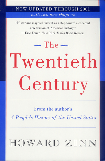 The Twentieth Century - A People's History - cover