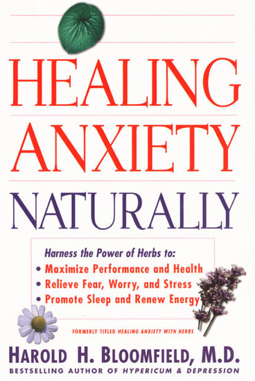 Healing Anxiety Naturally - cover