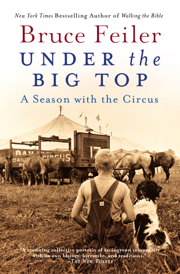 Under the Big Top - A Season with the Circus - cover