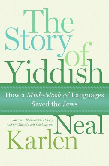The Story of Yiddish - cover