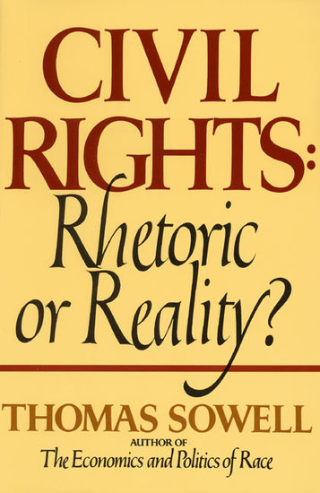 Civil Rights - RHETORIC OR REALITY - cover
