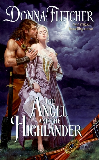 The Angel and the Highlander - cover