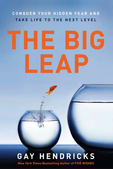 The Big Leap - Conquer Your Hidden Fear and Take Life to the Next Level - cover
