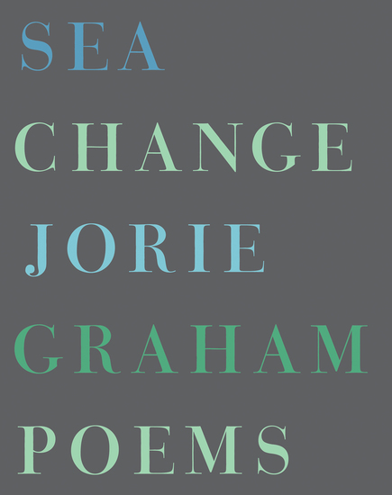 Sea Change - Poems - cover