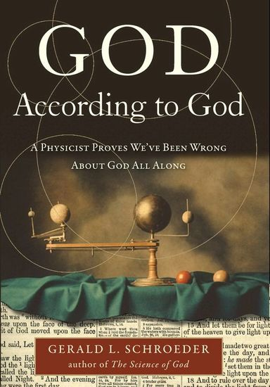 God According to God - A Physicist Proves We've Been Wrong About God All Along - cover