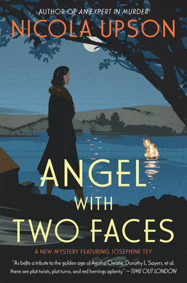 Angel with Two Faces - A Mystery Featuring Josephine Tey - cover