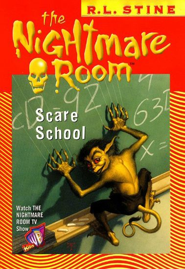 The Nightmare Room #11: Scare School - cover