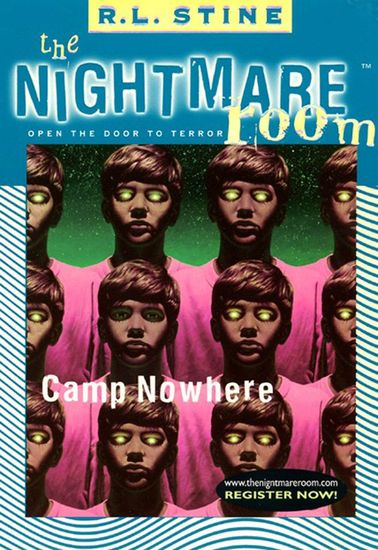 The Nightmare Room #9: Camp Nowhere - cover
