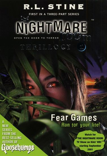 The Nightmare Room Thrillogy #1: Fear Games - cover