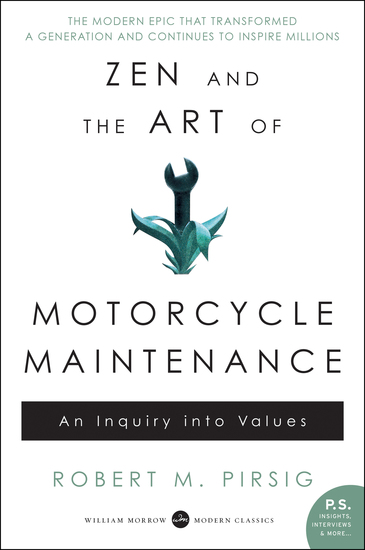 Zen and the Art of Motorcycle Maintenance - cover
