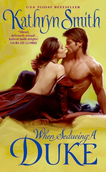 When Seducing a Duke - cover