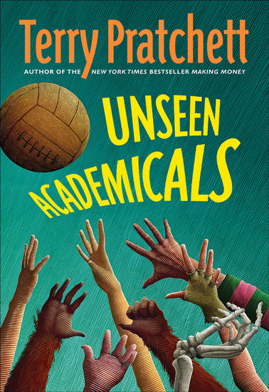 Unseen Academicals - A Novel of Discworld - cover