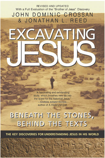 Excavating Jesus - cover